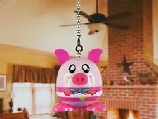 Capsule Gift Box Pirate Sailor Piglet Ceiling Fan Pull Light Lamp Chain Decor