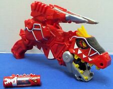 Power Rangers Dino Super Charge Deluxe RED T-Rex Morpher Blaster Gun & Charger