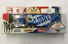 WHITE ROSE COLLECTIBLES MATCHBOX DIECAST NFL 1995 DETROIT LIONS TRUCK