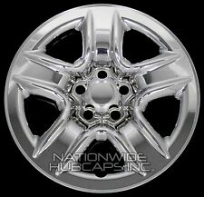 "4 New 2006-2012 Toyota RAV4 17"" Chrome Wheel Skins Hub Caps Full Rim Skin Covers"
