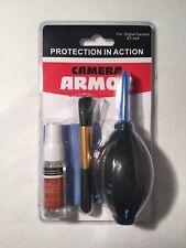Camera Armour - Protection Kit - Digital Camera KT-504 - Brush Spray Cloth Air