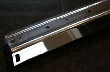 Chrome bumper small Golf MK1 STAINLESS STEEL rear Cabrio Caddy Jetta NEW