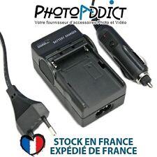 Chargeur pour batterie CANON BP14, BP15, BP28, D08S - 110 / 220V et 12V