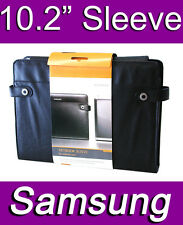 """SAMSUNG 10.2"""" INCH NETBOOK NOTEBOOK SLEEVE CASE BAG POLY NYLEX PU LEATHER"""