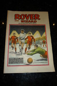 THE ROVER & WIZARD - Date 19/10/1968 - UK Comic