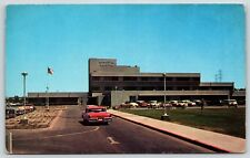 The Memorial Hospital Building in Bakersfield, California Chrome Postcard Unused