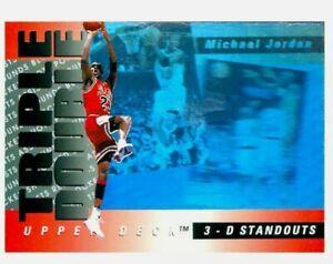 Michael jordan triple double Complete Set Of 10 1993-94