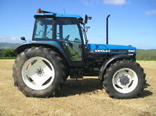 Ford New Holland 40 Tractors 5640 6640 7740 7840 8240 8340 Service Manual ON CD