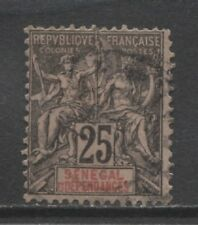 1892 French colonies SENEGAL  25 centime Sage issue used, Yvert # 15
