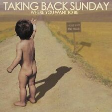 Taking Back Sunday : Where You Want to Be CD (2004)