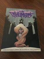 The Inhumans MARVEL Graphic Novel 1988 Ann Nocenti Brett Blevins 1st Print