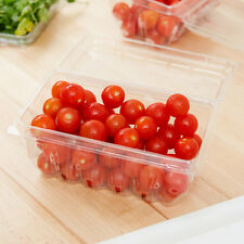 1lb. Clear Hinged Berry Basket Free shipping in Usa