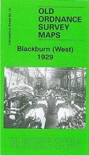 MAP OF BLACKBURN (WEST) 1929