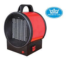 Prem-i-air Garage Taller seguro Acero Camping 2kw Eléctrica golpe Fan Heater