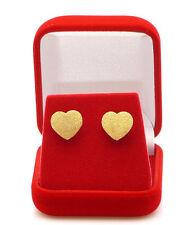 Ohrstecker Herz 18 Karat Ohrringe Gold 750 Gelbgold Top Design ladylike