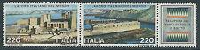 1980 ITALIA USATO BLOCCO LAVORO ITALIANO NEL MONDO - V1-10