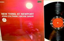 JOHN COLTRANE/ARCHIE SHEPP:new thing at Newport*IMPULSE AS 94 1966*ORG LABELS