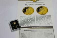 Nauru - 1/2 Dollar 2018 - Unabhängigkeit - 0,5 Gramm 585er Gold