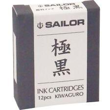 Sailor Pen fountain pen pigment cartridge nano ink 13-0604-120 Black From Japan