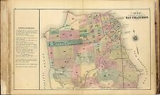 San Francisco Atlas of the city and county 1876 land ownership plats Dvd T5