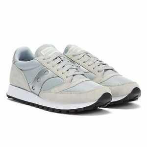 Saucony Jazz 81 Mens Grey / Silver Trainers