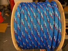 3/ 4 polyester double braid rope 300 feet  Make America Great Againf