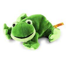 STEIFF®  281235  Cappy Frosch - liegend, 16 cm, grün  NEU unbespielt