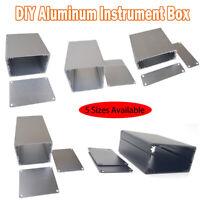 5 Arten Aluminium Leergehäuse Metall Industriegehäuse Gehäuse Box Kasten Neu
