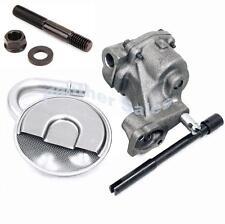 Melling Chevy 327 350 400 High Volume Oil Pump Screen Steel Drive Shaft ARP Stud