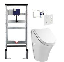 Urinal Element mit Geberit Fertigbauset  Urinal mit Deckel  Vorwandelement