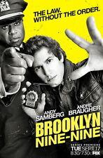 "Brooklyn Nine-Nine Poster Season 6 TV Series Andy Samberg Art Print 11x17 18x24/"""