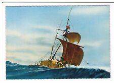 Postcard: Kon-Tiki - Heading for Polynesia