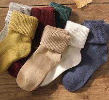 Ladies Beautiful Soft Angora Blend Ankle Socks Comfortable Autumn/Winter Warm