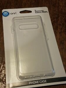 Transparent Clear Lightweight Slim Samsung Galaxy S10PL Phone Case s10+