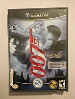 James Bond 007: Everything or Nothing (Nintendo GameCube, 2004) Tested & Working
