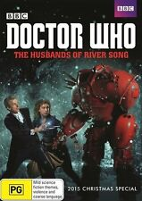 Doctor Who The Husbands of River Song Christmas Special 2015 DVD R4 New!