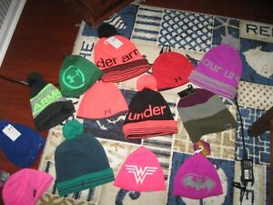 UNDER ARMOUR Unisex Winter Hats, Men,Ladies&Youth, All Colors&Styles
