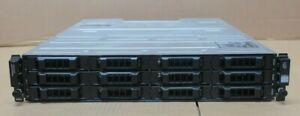 Dell PowerVault MD3600f Storage Array 12-Bay + Dual FC 8Gb Controller + Dual PSU