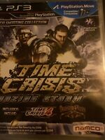 Time Crisis: Razing Storm for PlayStation 3 PS3 Game Only✔️ Extra Cleanv🧐✔️