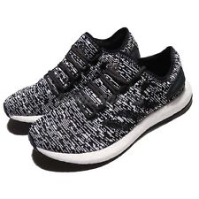 adidas Men's Pure Boost Running Shoes - Black/White size 12   model s81995