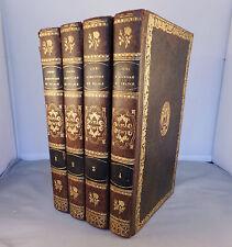 ALEXANDRE MAZAS / COURS D'HISTOIRE DE FRANCE / 1839 complet en 4 vol. (Fer Auch)