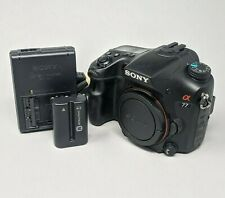Sony Alpha A77 24.3MP Digital SLR Camera Body SLT-A77V - 22K Clicks