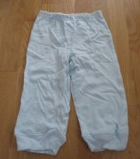 NEW BOYS CARTER'S JUST ONE YOU LT. BLUE PANTS / BOTTOMS 18 MOS. 100% COT, NWOT
