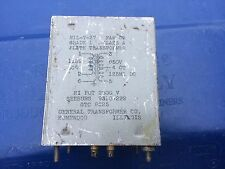 Vintage GTC Seeburg 9310-222 Plate Transformer for Tube Amplifier MIL-T-27