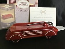 Hallmark Kiddie Car Classics 1940 Garton Aero Flite Wagon Signed Ed Weirick Ltd