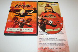 Avatar The Last Airbender  Book 3: Fire Volume 2 (DVD 2008) Nickelodeon