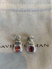 Tourmaline and Diamonds Stud Earrings New listing David Yurman Albion 7mm