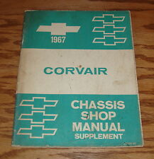 1967 Chevrolet Corvair Chassis Shop Manual Supplement 67 Chevy