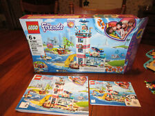 New ListingLego Friends Lighthouse Rescue Center (41380) Complete w/ Box & Instructions