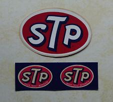 Vintage  STP  Racing  stickers  ...  INDY 500  -  NASCAR  -  HOTROD